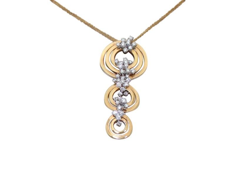 Damiani Sophia Loren 18K Rose Gold Necklace
