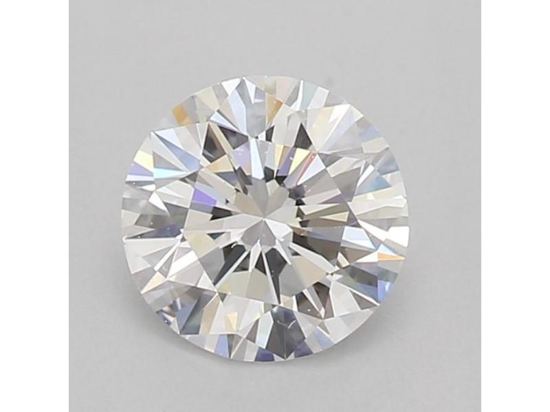 GIA Certified 0.74 Ct Round cut E VVS1 Loose Diamond