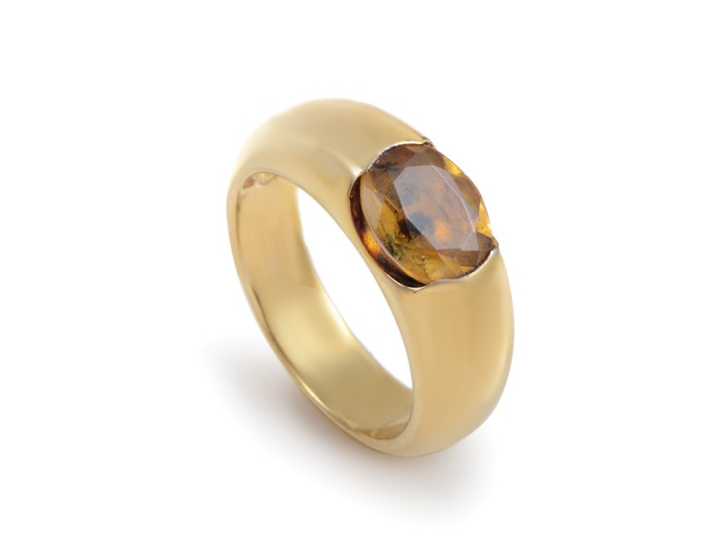 Suarez 18K Yellow Gold Citrine Ring