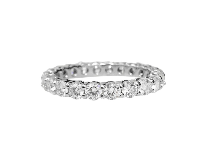 30d1d7441 Tiffany & Co. Platinum and Diamond Wedding Band Ring Size 6.5 ...