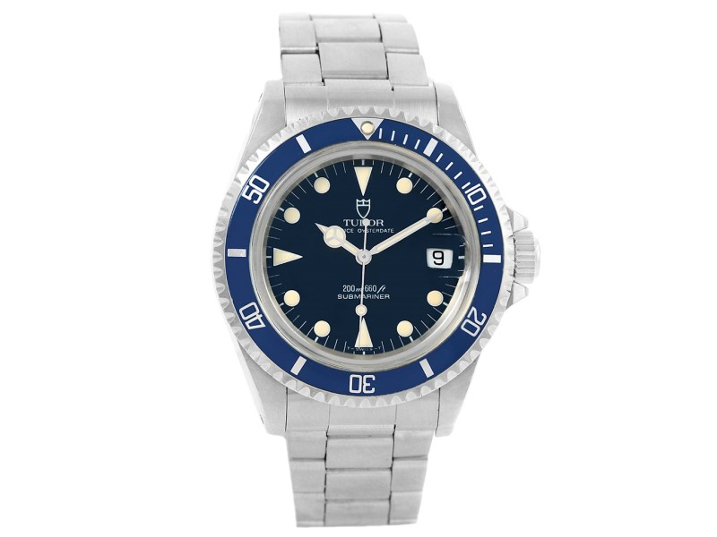 Tudor Submariner Prince Oysterdate 79090 Stainless Steel 40mm Mens Watch