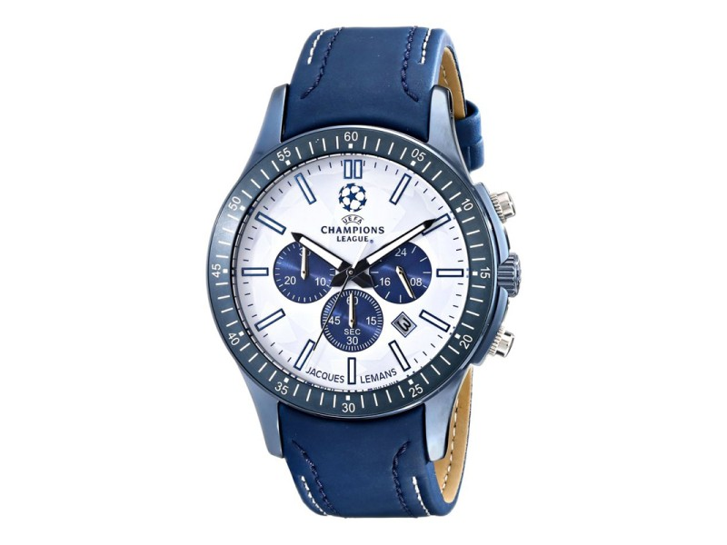 Jacques Lemans Mens U43A UEFA Champions League Blue Watch