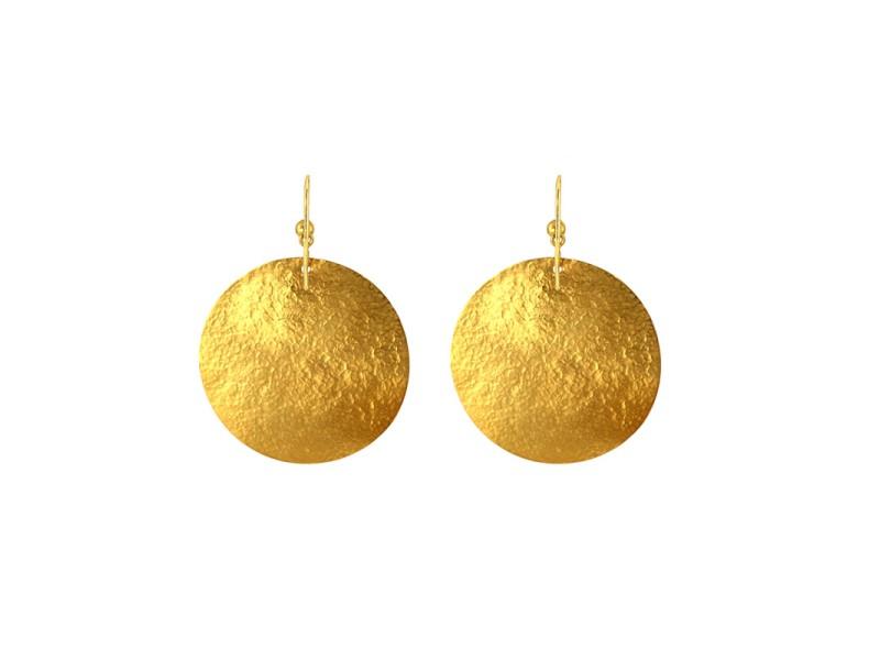 Gurhan 24K Yellow Gold Mango Earring
