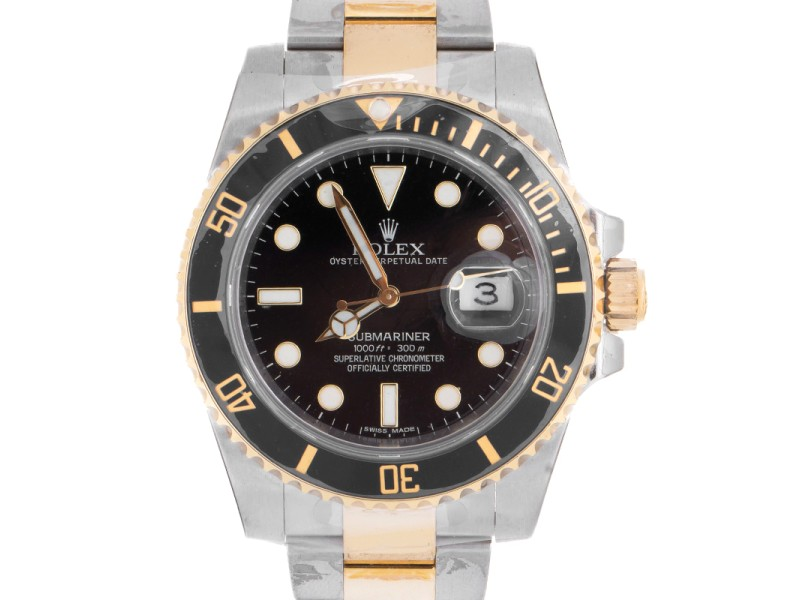 Rolex Oyster Perpetual 116613 LN Submariner Date Mens Watch