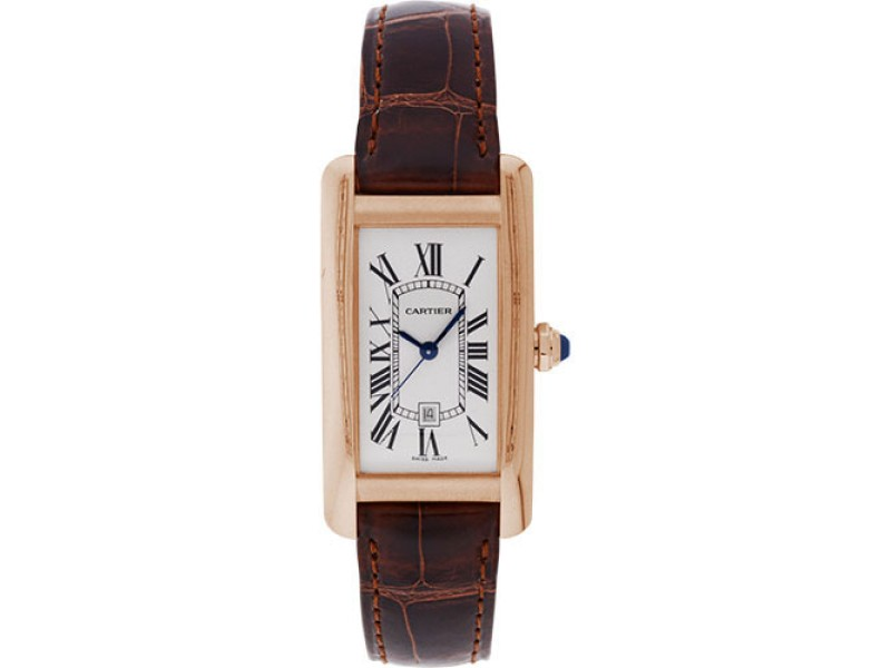 Cartier Tank Americaine W2620030 22.6mm Unisex Watch