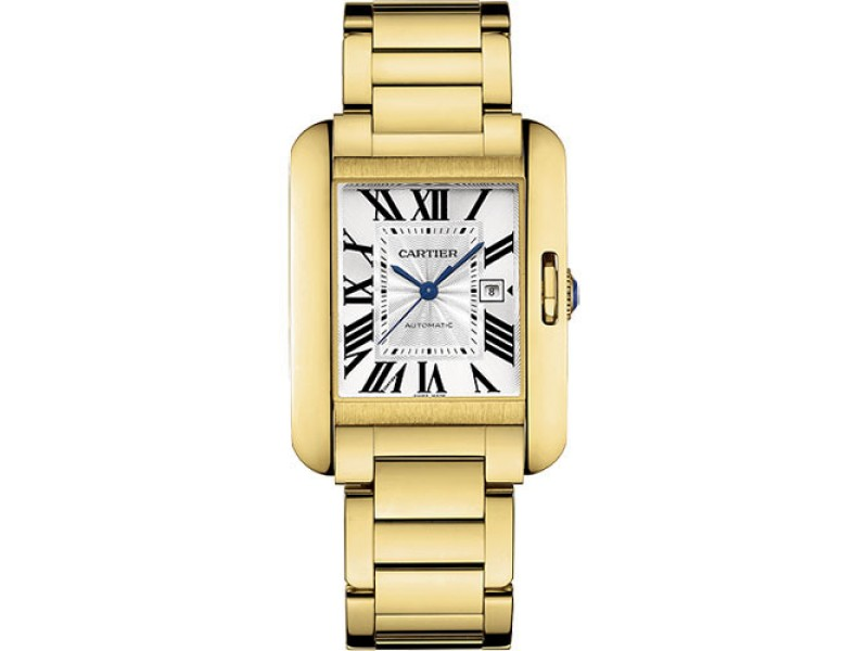Cartier Tank Anglaise W5310015 29.8mm Unisex Watch
