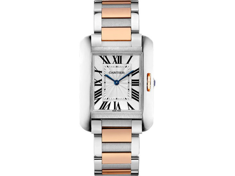 Cartier Tank Anglaise W5310043 34.7mm Womens Watch