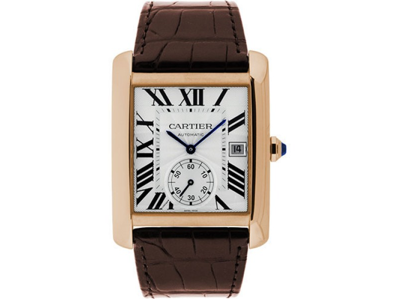 Cartier Tank MC W5330001 34.3mm Mens Watch