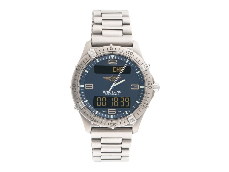 Breitling Aerospace E56062 Stainless Steel 40mm Mens Watch