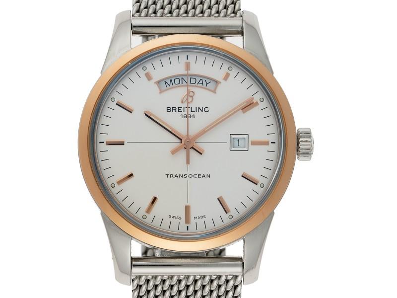 Breitling Transocean U45310 43mm Mens Watch