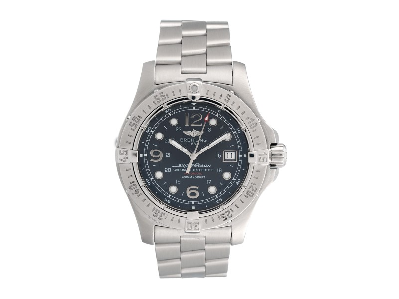 Breitling Aeromarine Superocean Steelfish A17390 Mens Watch