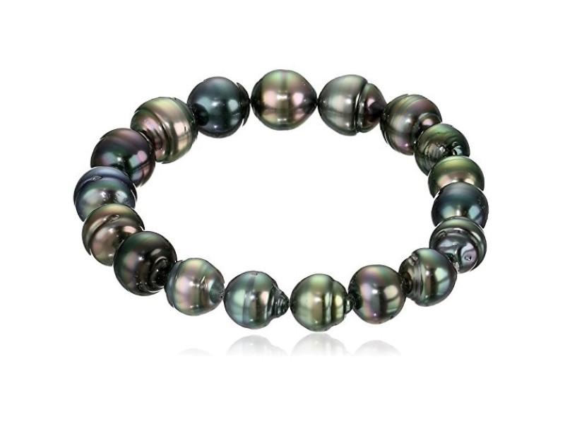 Tahitian Black Cultured Pearl Bracelet