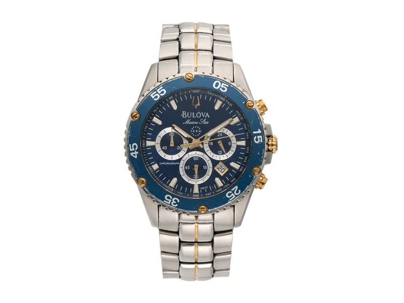 Bulova Marine Star 98H37 42mm Mens Watch