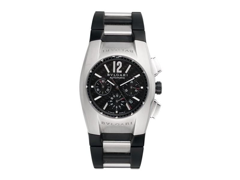 a59f1104e7e Bulgari Bvlgari EG 40 S CH Ergon Chronograph Automatic Stainless Steel Mens  40mm Watch