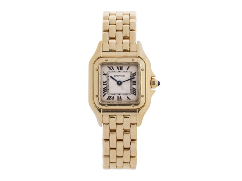 Cartier Panthere 18K Yellow Gold 25mm Watch