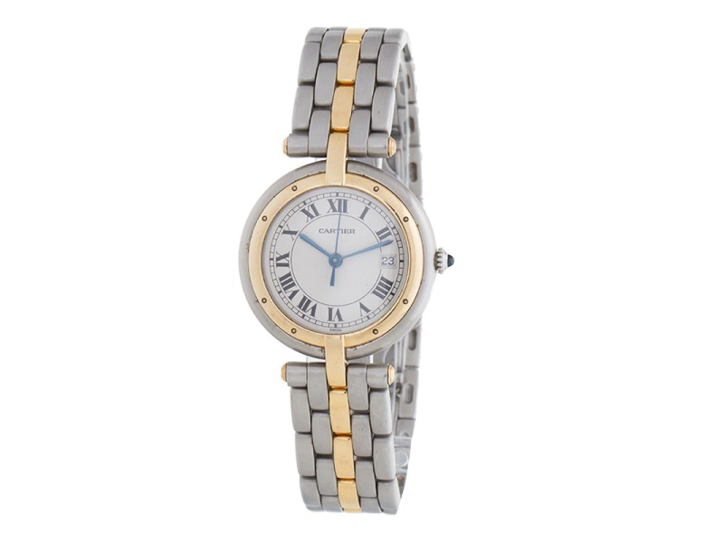 Cartier Panthere 18K Yellow Gold / Stainless Steel Quartz 30mm Unisex Watch
