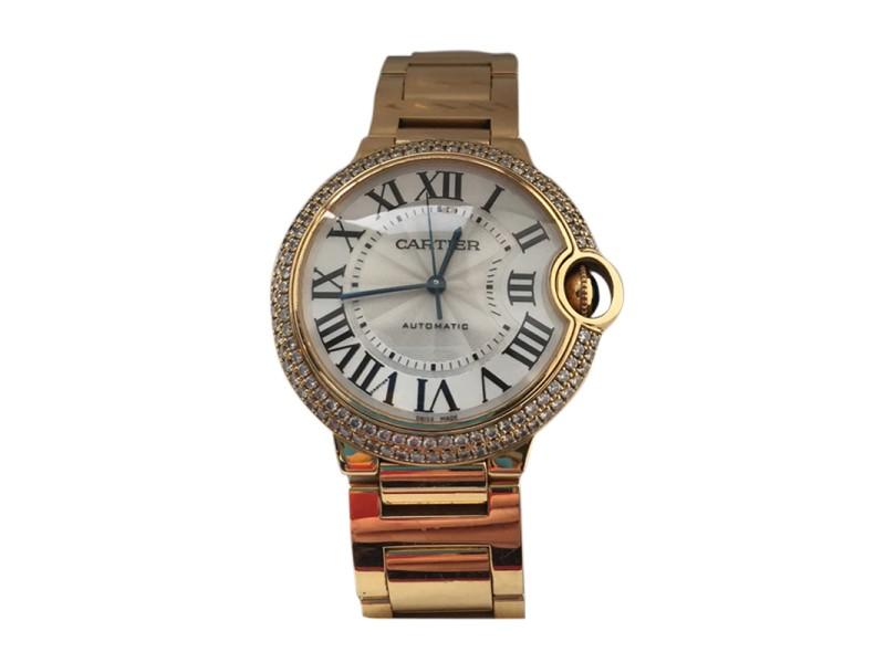 Cartier Ballon Bleu 18K Yellow Gold 36.60mm Watch