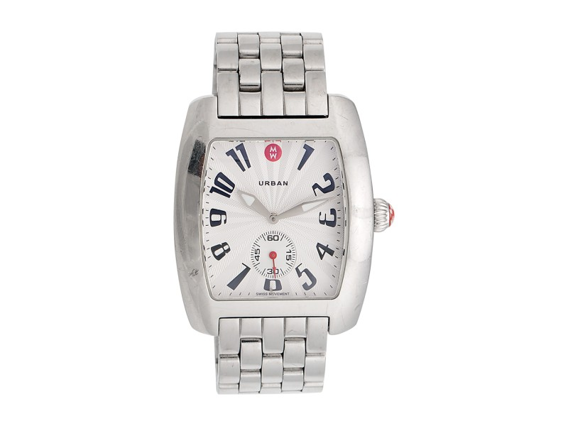 Michele Stainless Steel Urban 36mm Women's Watch