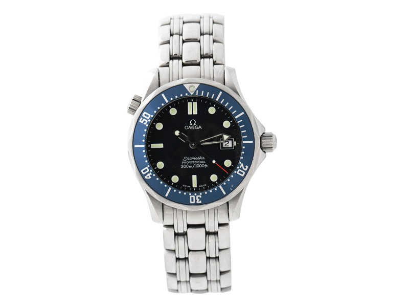 Omega Seamaster James Bond 2561.80.00 Stainless Steel Midsize 300M 36.25mm Watch