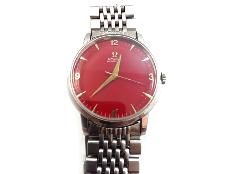 Omega Automatic Red Dial