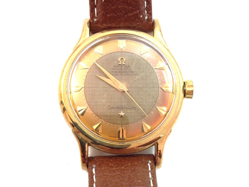 Omega Constellation Two-Tone Dial