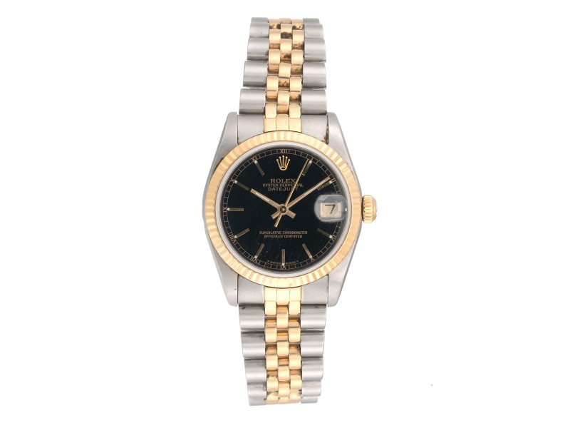 Rolex Datejust 68273 Two-Tone 18K Yellow Gold and Stainless Steel 31mm Womens Watch