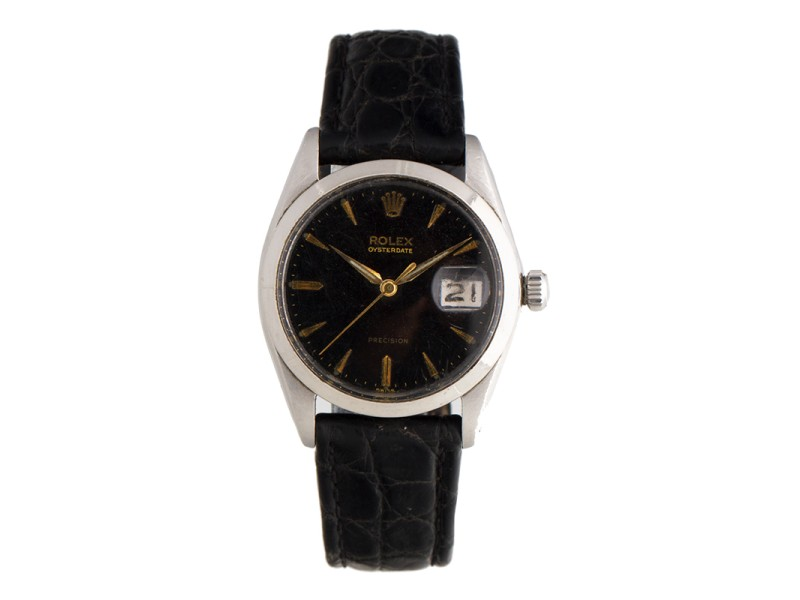 Rolex Oyster Precision Vintage Stainless Steel 34mm Watch