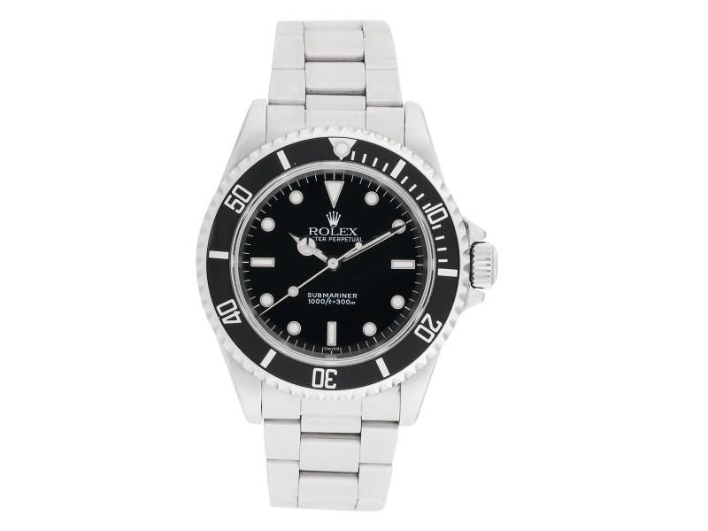 Rolex Submariner 14060 Stainless Steel 40mm Mens Watch