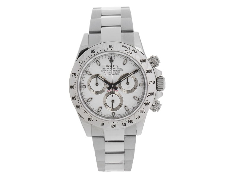 Rolex Cosmograph Daytona 116520 Stainless Steel 40mm Watch