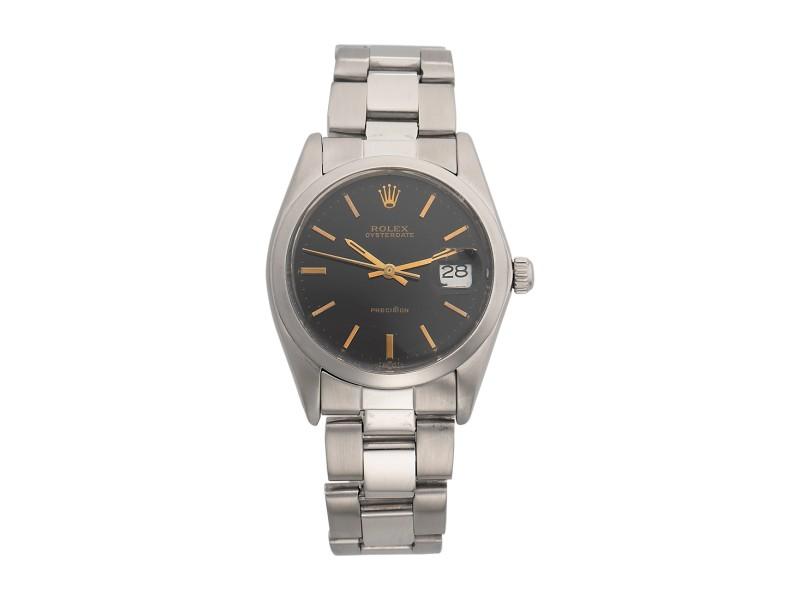 Rolex Oysterdate Precision 34mm Unisex Watch
