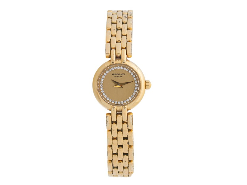 Raymond Weil Gold Tone Watch