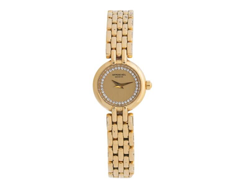 Raymond Weil Gold Tone Watch
