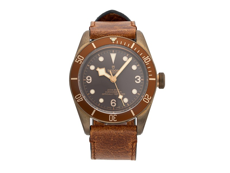 Tudor Heritage 79250BM-BRBRLS 43mm Mens Watch
