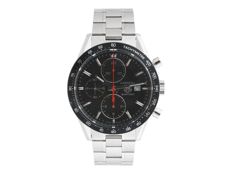 Tag Heuer Carrera CV2014.BA0794 Stainless Steel Chronograph 41mm Mens Watch