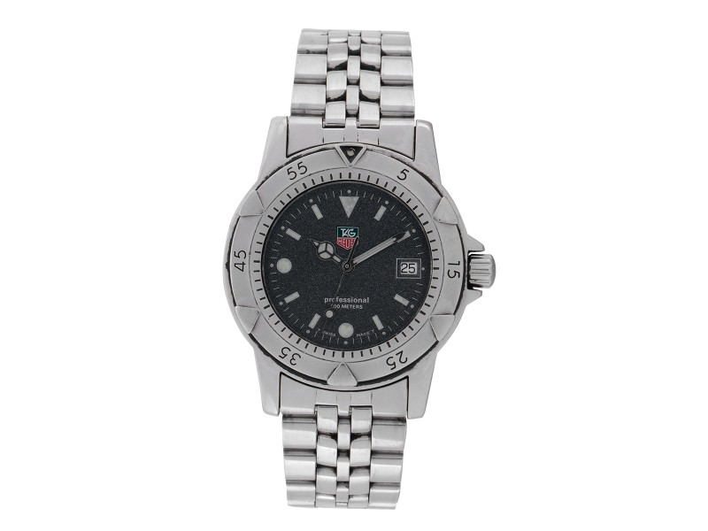 Tag Heuer 1500 Series Wd1211-K-21 Professional 200m Resistance 37mm Mens Watch