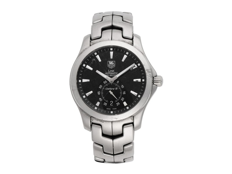 Tag Heuer Link WJF211A.BA0570 39mm Mens Watch