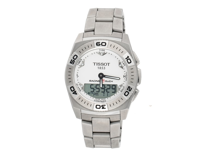 Tissot Racing Touch T0025201103100 Stainless Steel Quartz 43mm Mens Watch