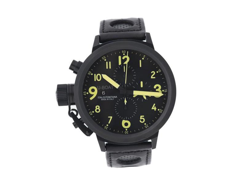 U-Boat Flightdeck Z 50 CAB Y Black PVD Case 50mm Watch