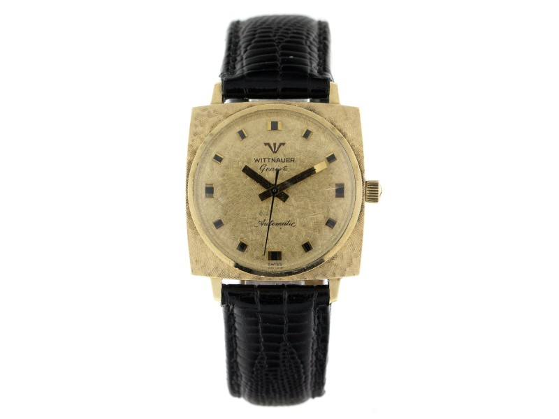 Wittnauer 10K Yellow Gold and Stainless Steel 30mm Watch