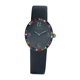 Anastasia Black 113WA1122/8 25mm x 29mm Womens Watch