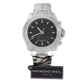 Raymond Weil Sport 8400-ST-20001 Mens Stainless Steel 44MM Quartz Watch