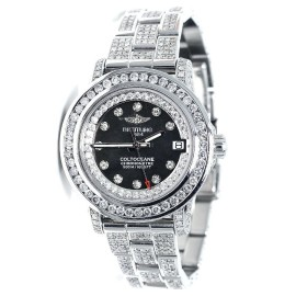 Breitling Aeromarine Colt Oceane 33 Diamond A77387 13.5 Ct Ladies Watch