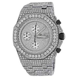 Audemars Piguet Royal Oak Offshore Stainless Steel Diamond Dial 42 mm Watch