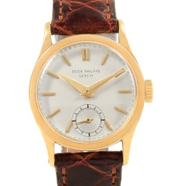 Patek Philippe Calatrava 18459 Vintage 30mm Mens Watch