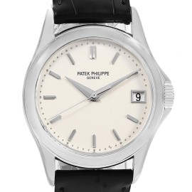 Patek Philippe Calatrava 5107G Mens 37mm Watch