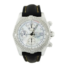 Breitling Chronomat Evolution A13356 Chronograph Steel Date Automatic Men's Watch
