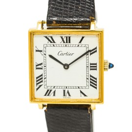Cartier Tank Square Vintage 30mm Mens Watch