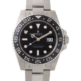 Rolex 116710 GMT Master II Steel Black Dial & Bezel Automatic 40mm Watch