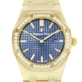 Audemars Piguet Royal Oak 67651ba.zz.1261ba.02 33mm Womens Watch