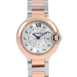 Cartier Ballon Blue W3BB0005 28mm Womens Watch